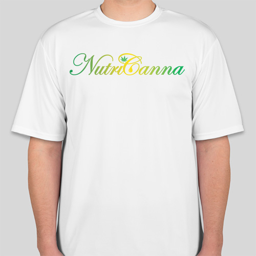 NutriCanna T-Shirt (White)